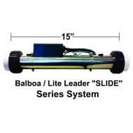 """HydroQuip / Balboa """"Lite Leader"""" Series, 5.5KW, 2.25""""x 15"""", 24"""" Cord, Part #  26-87B-B00-1FP3"""
