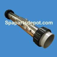 """Hydro Quip Heater: 5.5KW 240V 2-1/4"""""""" X 15"""" FLO Part 48-260032-R1"""
