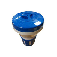 "Spa Floating Chlorinator: Blue/White 1"" Tabs"
