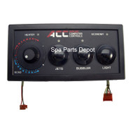 ACC Control Panel, T-Stat with 3 Buttons