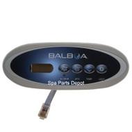 Control Panel, Balboa, MVP240, 4 Button, Gray
