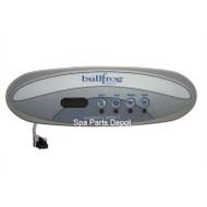 Bullfrog Spa Control Panel, Tadpole 4 Button