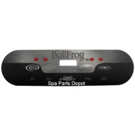 Bullfrog Spa Overlay, 1 Pump 2004-2007