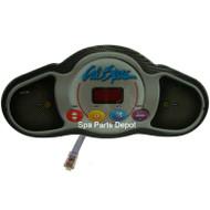 Control Panel, Cal Spa, Mini Dash, 2100/CS5000