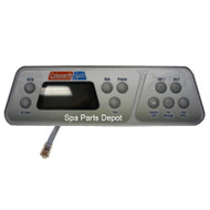 Coleman Spa Control Panel, 600 Series, 10Button