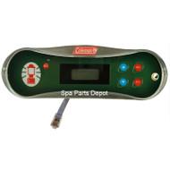 Coleman Spa Control Panel, 700S, 2 Pump