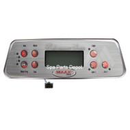Coleman Spa Control Panel, 8 Button, 2 Pumps