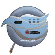 Coleman Spa Control Panel, California Cooperage, 2006-2008 3 Button