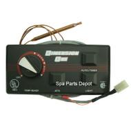 Dimension One Control Panel, D1, 3 Button W/out Auto/Timer Button