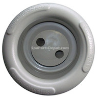 Sundance Spa Dual-Pulse: Jet Face, Textured/Rotating (Gray)