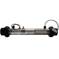 Balboa Heater Assembly, Flo-Thru, With Sensors , 2.0 KW