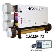 Hydro Quip CS6229 Digital Spa Control , Slide Heater - CS6229-US-F