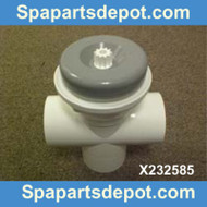 "Master Spas 2"" Diverter Valve Assy. 2008 To 2009, Part # X232585"