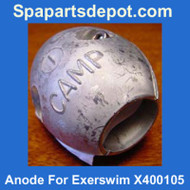 Master Spas Anode For Exerswim X400105