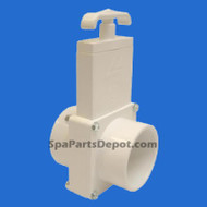 "Magic Plastic Slice Valve Spa Hot Tub  2""S x S 3-Pc - MFG # 0101-20"