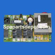Spa Builders LX 5 Circuit Board Rev 8.01 - 3-60-0168