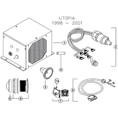 complete caldera fiber optics light system