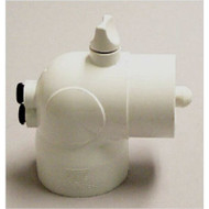 """Thermowell, Plastic drywell, Mounting: 2"""" S x SPG x3/8"""" bleeder"""
