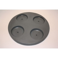 "Freeflow Spas Large Round Filter Lid With Cup Holders 11 1/4"", Part # 303205"