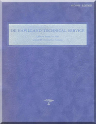 De Havilland  Ghost 48 Aircraft Engine Training  Manual  ( English Language )