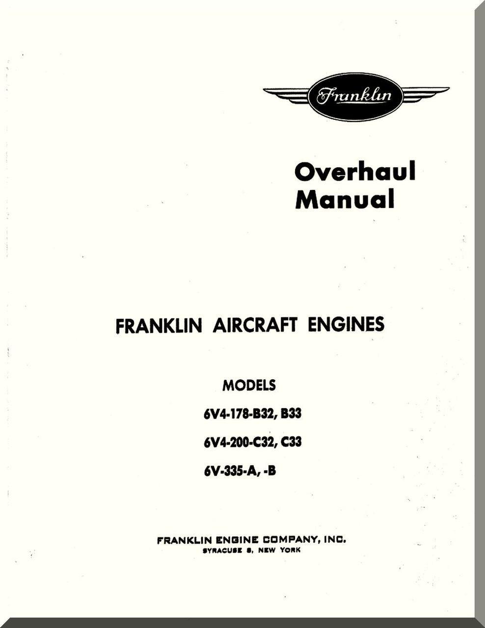 Franklin 6v4 178 b32 b33 6v4 200c32c33 6v 335 ab aircraft image 1 malvernweather Choice Image