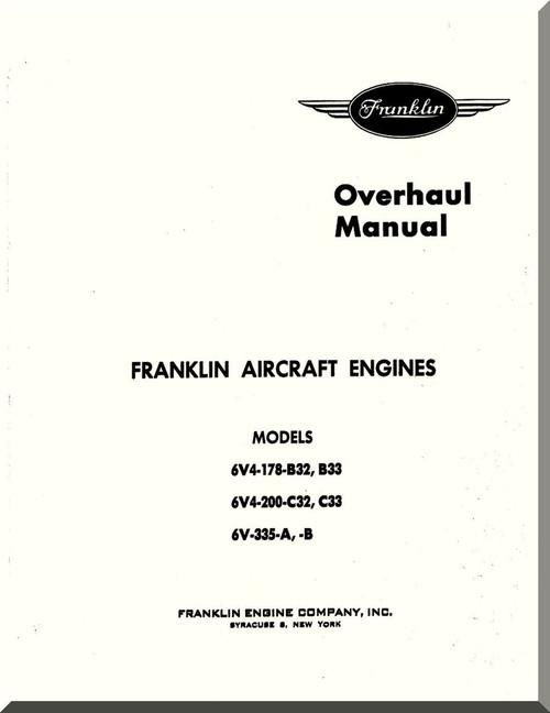 Franklin 6v4 178 b32 b33 6v4 200c32c33 6v 335 ab aircraft image 1 malvernweather Image collections