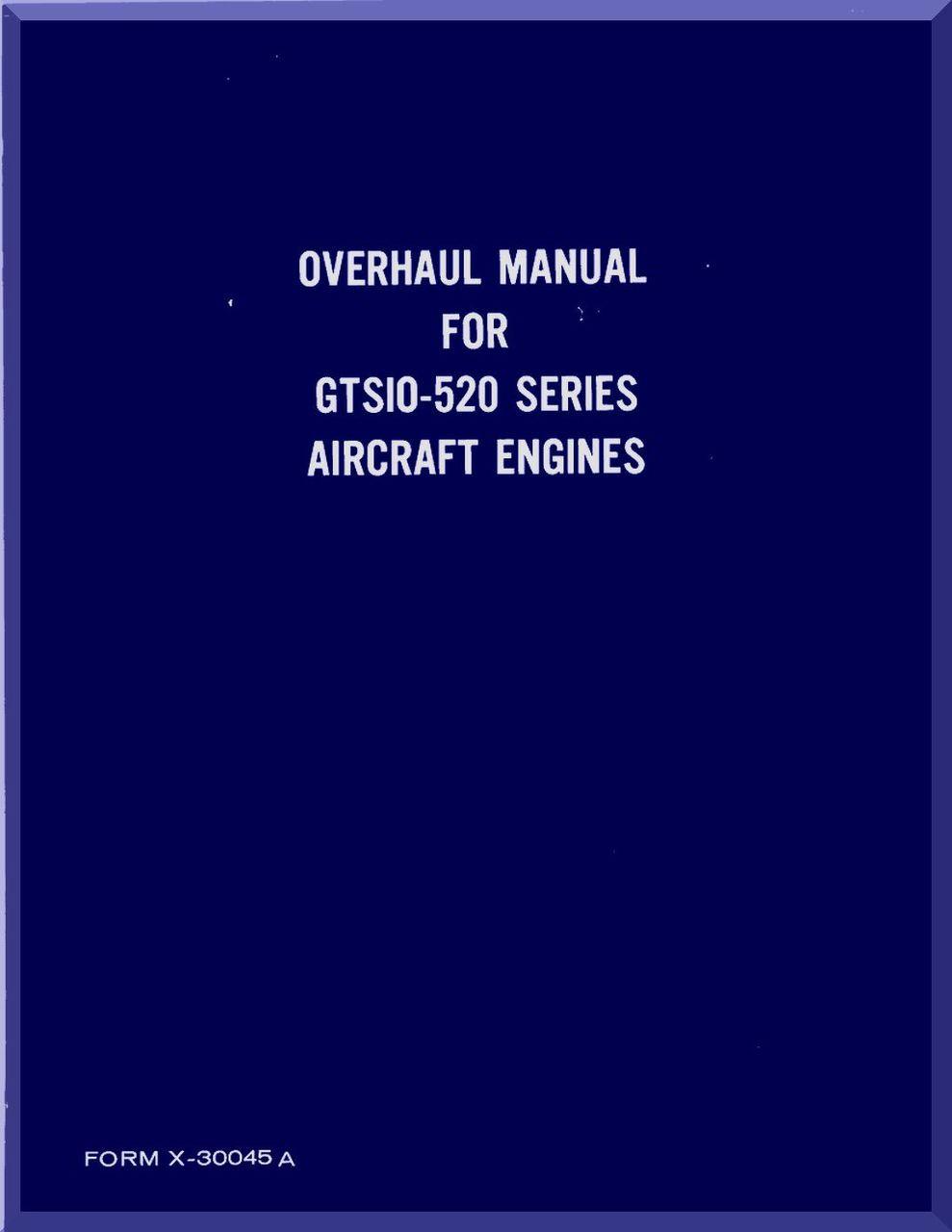 continental gtsio 520 aircraft engine overhaul manual english rh aircraft reports com gtsio-520 series engine overhaul manual tsio 520 service manual