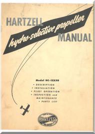 Hartzell Aircraft Propeller Hydro Selective Manual HC-12X20