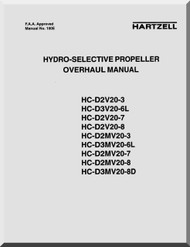 Hartzell Aircraft Propeller Hydro-Selective Overhaul Manual - 100E