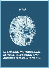 Vedeneyev M14P  Aircraft Engine Operating Instructions  Manual    -  ( English Language )