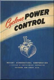 Wright Cyclone Radial Aircraft Engine Power  Control Manual  ( English Language )