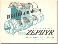 Bristoll / Curtiss wright / Olympuse 551 / TJ-38 Zephyr  Aircraft Engine Brochure   Manual