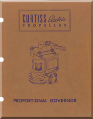 Curtiss Eletrical Propeller Proportional Governor Manual