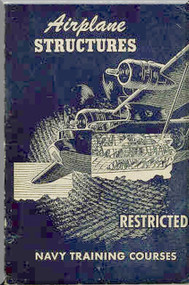 Aircraft Structures NAVY Training Courses Manual  - 1944 -1945