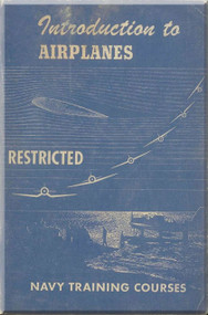 Introduction of Airplane NAVY Training Courses Manual  - 1944 -1945