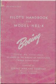 Stearman N2S-4 Aircraft Pilot's Handbook Manual - B75N1-9004 - 1942