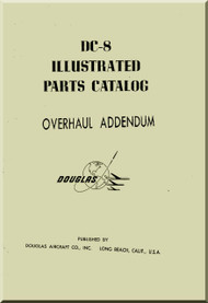 Aircraft Manuals Douglas DC-8 Illustrated Parts Catalog