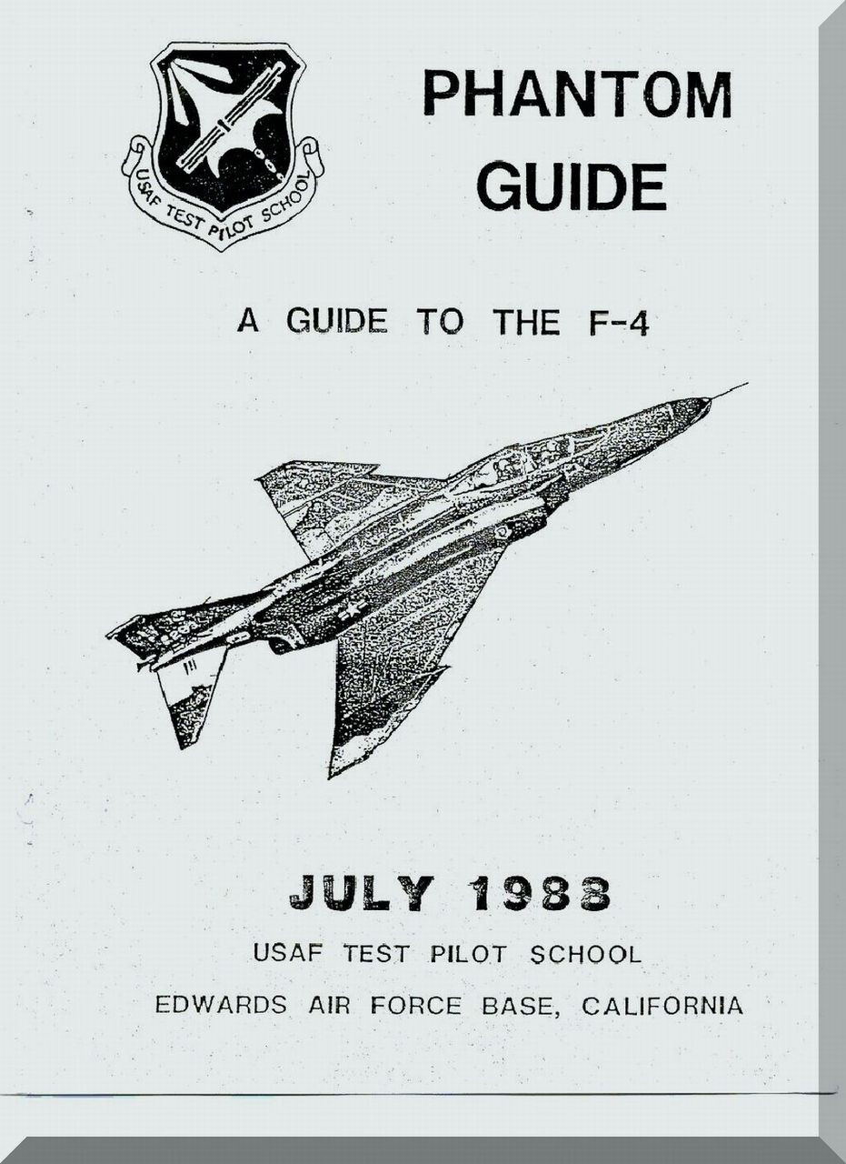 Mc Donnell Douglas F-4 Aircraft Phantom Guide Manual
