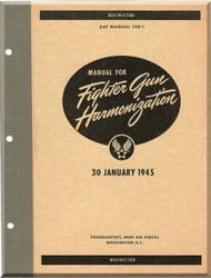 Aircraft Fighter Gun Harmonization  Manual