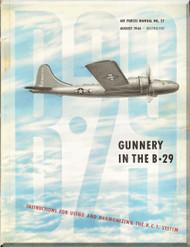 Boeing B-29  Aircraft Gunnery Manual - AAF 27