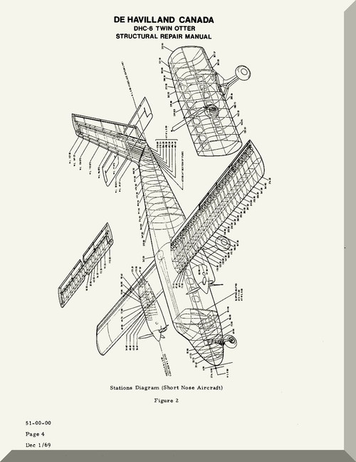 De Havilland DHC-6 Aircraft Structural Repair Manual