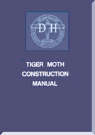 De Havilland  Tiger Moth  Aircraft Construction Manual