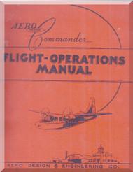 Aero Commander 560  Aircraft Flight Manual