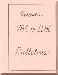 Aeronca 7AC 11 AC  Aircraft Service Bulletins Manual