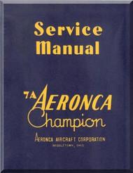 Aeronca 7A  Aircraft Service  Manual