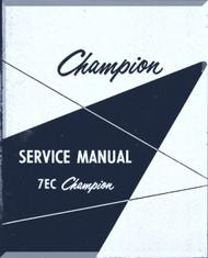Aeronca 7 EC Aircraft Service   Manual