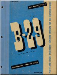 Boeing B-29 Pilot Training  Manual, 1944