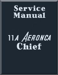 Aeronca 11 A  Aircraft Service Manual
