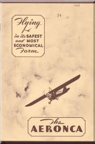 Aeronca C3  Aircraft Technical   Manual