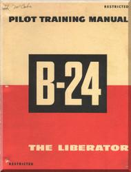 Consolidated B-24 Aircraft  Pilot Training Manual  - 1944
